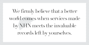We firmly believe that a better world comes when services made by NHN meets the invaluable records left by yourselves.
